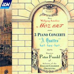 Mozart: Piano Concertos Nos. 11 - 13 - Peter Frankl, José Luis Garcia, Simon Lewis, Quintin Ballardie, Olga Hegedus