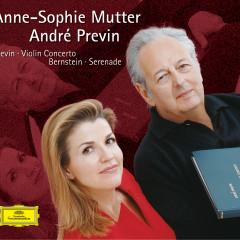 Previn: Violin Concerto / Bernstein: Serenade