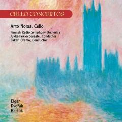 Elgar / Dvorák : Cello Concertos - Bartók : Rhapsody No.1 - Arto Noras, Finnish Radio Symphony Orchestra
