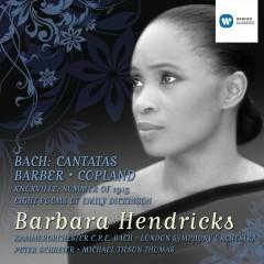 Bach Cantatas and Barber/Copland - Barbara Hendricks
