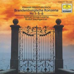 Bach, J.S.: Brandenburg Concerto No.1 BWV 1046; No.5 BWV 1050 & No.6 BWV 1051 - Festival Strings Lucerne, Rudolf Baumgartner