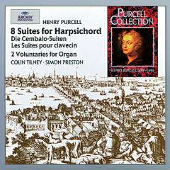 Purcell: The Harpsichord Suites; 2 Voluntaries - Colin Tilney, Simon Preston