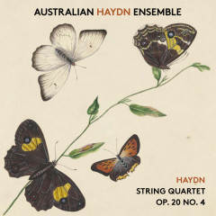 Haydn String Quartet, Op. 20, No. 4 - Australian Haydn Ensemble