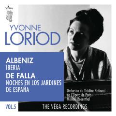 Albéniz: Iberia / De Falla: Noches en los jardines de Espanã - Yvonne Loriod, Orchestre du Theấtre National de l'Opéra de Paris, Manuel Rosenthal