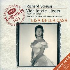 Strauss, R.: Vier letzte Lieder - Lisa della Casa, Wiener Philharmoniker, Karl Böhm, Rudolf Moralt, Heinrich Hollreiser
