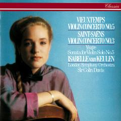 Saint-Saëns: Violin Concerto No. 3 / Vieuxtemps: Violin Concerto No. 5 / Ysaÿe: Solo Violin Sonata No. 5 - Isabelle van Keulen, London Symphony Orchestra, Sir Colin Davis