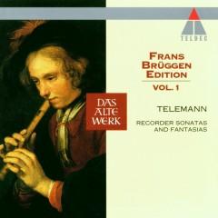 Telemann : Frans Brüggen Edition Volume 1 : Recorder Sonatas & Fantasias - Frans Brüggen