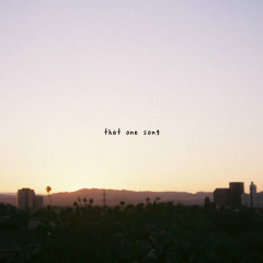 That One Song (Single) - Gnash