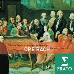 C.P.E. Bach - Hamburg Concertos - Bob van Asperen