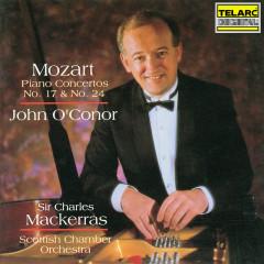 Mozart: Piano Concertos Nos. 17 & 24 - John O'Conor, Sir Charles Mackerras, Scottish Chamber Orchestra