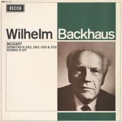 Mozart: Piano Sonatas; Rondo in A Minor - Wilhelm Backhaus