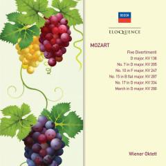 Mozart: Five Divertimenti - Members Of The Wiener Oktett