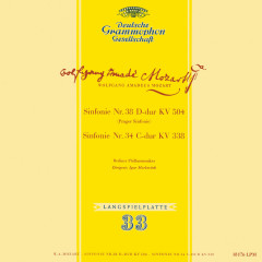 Mozart: Symphony No. 34, K. 338; Symphony No. 38, K. 504 'Prague'; Symphony No. 35, K. 385 'Haffner'; Gluck: Sinfonia in G Major (Igor Markevitch – The Deutsche Grammophon Legacy: Volume 2) - Berliner Philharmoniker, Orchestre Des Concerts Lamoureux, Igor Markevitch