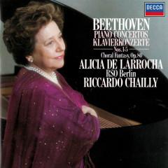 Beethoven: Piano Concertos Nos. 1-5; Choral Fantasia - Alicia De Larrocha, Radio-Symphonie-Orchester Berlin, Riccardo Chailly