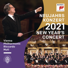 Neujahrskonzert 2021 / New Year's Concert 2021 / Concert du Nouvel An 2021 - Riccardo Muti, Wiener Philharmoniker