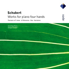 Schubert : Works for piano four hands - Anne Queffelec, Imogen Cooper