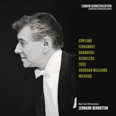 Copland: El salón México - Vaughan Williams: Fantasias - Foss: Phorion - Milhaud: La Creátion du monde - Leonard Bernstein