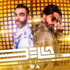 Bella (Remix) - Wolfine, Maluma