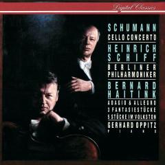 Schumann: Cello Concerto; Adagio & Allegro; Fantasiestücke; 5 Stücke im Volkston - Heinrich Schiff, Gerhard Oppitz, Berliner Philharmoniker, Bernard Haitink