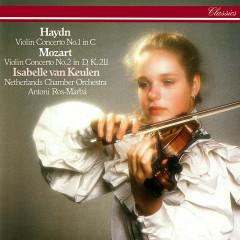 Haydn: Violin Concerto No. 1 / Mozart: Violin Concerto No. 2 - Isabelle van Keulen, Netherlands Chamber Orchestra, Antoni Ros-Marbà