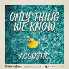 Only Thing We Know (Acoustic) - Alle Farben, YouNotUs, Kelvin Jones