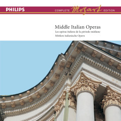 Mozart: Complete Edition Box 14: Middle Italian Operas