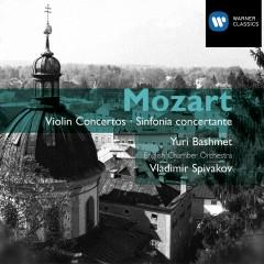 Mozart: Violin Concertos Nos 1-5 & Sinfonia concertante - Vladimir Spivakov