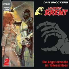 Hörbuch 02/Die Angst erwacht im Todesschloss - Larry Brent