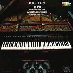 Chopin: Polonaise & Fantaisie & 3 Waltzes & Impromptu in G-Flat - Peter Serkin