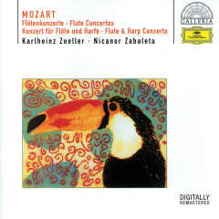 Mozart: Flute Concertos Nos.1 & 2; Flute & Harp Concerto K.299 - Karlheinz Zoeller, Nicanor Zabaleta, Berliner Philharmoniker, Ernst Märzendorfer, English Chamber Orchestra
