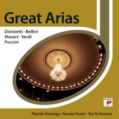 Great Opera Arias by Donizetti; Bellini; Mozart; Verdi & Puccini - Placido Domingo