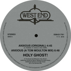 Anxious / Spirit of Sunshine - Holy Ghost!, The Chuck Davis Orchestra