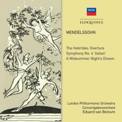 Mendelssohn: Symphony No. 4; Midsummer Night's Dream - Eduard Van Beinum