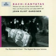 Bach, J.S.: Cantatas BWV 140 & 147 - Ruth Holton, Michael Chance, Anthony Rolfe Johnson, Stephen Varcoe, Alison Bury