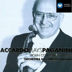 Accardo Plays Paganini - Vol. 1 - Salvatore Accardo