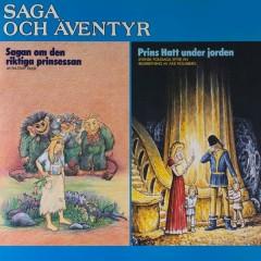 Saga och äventyr: Sagan om den riktiga prinsessan & Prins Hatt under jorden - Michael B. Tretow,Lena Klefelt
