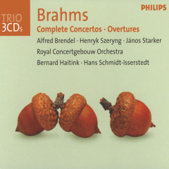Brahms: Complete Concertos / Overtures - Alfred Brendel, Henryk Szeryng, Janos Starker, Royal Concertgebouw Orchestra, Bernard Haitink