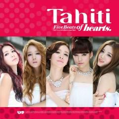 1st Mini Album: Five Beats of Hearts - TAHITI