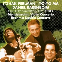 Brahms: Double Concerto / Mendelssohn: Violin Concerto - Daniel Barenboim