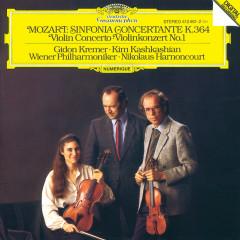 Mozart: Sinfonia Concertante K.364; Violin Concerto No.1 - Wiener Philharmoniker, Nikolaus Harnoncourt