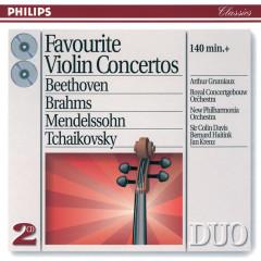 Favourite Violin Concertos - Arthur Grumiaux, Royal Concertgebouw Orchestra, New Philharmonia Orchestra, Sir Colin Davis, Bernard Haitink