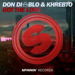 Got The Love - Don Diablo, Khrebto