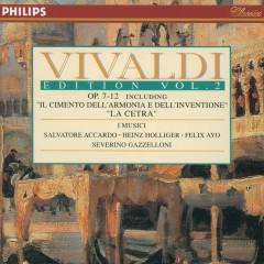 Vivaldi Edition Vol.2 - Op.7-12 - I Musici, Salvatore Accardo, Felix Ayo, Severino Gazzelloni, Heinz Holliger