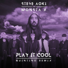 Play It Cool (Quintino Remix) - Steve Aoki, Monsta X