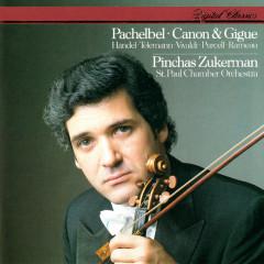 Pachelbel: Canon & Gigue & Works By Handel, Telemann, Vivaldi, Rameau & Purcell - Pinchas Zukerman, St. Paul Chamber Orchestra