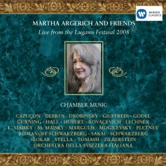 Live from the Lugano Festival 2008 - Martha Argerich