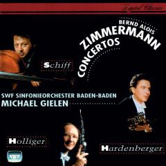 Zimmermann: Cello, Oboe and Trumpet Concertos; Canto di speranza - Michael Gielen, Heinrich Schiff, Heinz Holliger, Hakan Hardenberger, SWF Sinfonie Orchester Baden-Baden