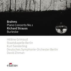 Brahms : Piano Concerto No.1 & Strauss, Richard : Burleske  -  Elatus - Hélene Grimaud