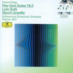 Grieg: Peer Gynt Suites Nos.1 & 2; Lyric Suite; Sigurd Jorsalfar - Göteborgs Symfoniker, Neeme Jarvi, Marianne Eklöf, Barbara Bonney, Gösta Ohlin's Vocal Ensemble & Pro Musica Chamber Choir