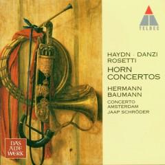 Haydn, Danzi, Rosetti : Horn Concertos - Hermann Baumann